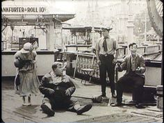 """Rare scene in movie """"Coney Island"""" of Buster Keaton laughing. He said he felt that if he was laughing the audience wasn't, thus the straight face. Roscoe Arbuckle, James Agee, Actions Speak Louder Than Words, Coney Island, Dead Man, Old Movies, Classic Hollywood, Comedians, Actors & Actresses"""