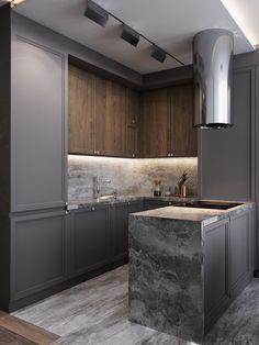 The Best 2019 Interior Design Trends - Interior Design Ideas Home Decor Kitchen, Kitchen Interior, Kitchen Dining, Kitchen Cabinet Design, Modern Kitchen Design, Küchen Design, House Design, Interior Design Guide, Cuisines Design