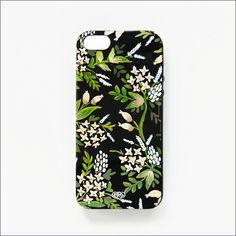 Forest Flowers iPhone 5 Slim Hard Case - Plum Pretty Sugar