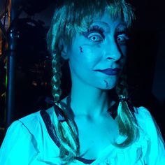 Halloween 2017  film Horror...  #annabelle #theconjuring #makeup #fattodame #horrormovies #halloween #instamua #instadaily #ExoticDance #animationteam #picoftheday