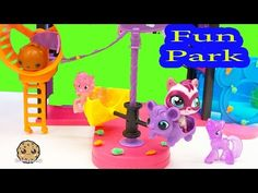 MLP Twilight Sparkle and Pinkie Pie want to ride on the fun rides at the the Littlest Pet Shop Fun Park Playset. Comes with bobblehead pet, stickers, and 2 r. Shoppies Dolls, Shopkins And Shoppies, My Little Pony Youtube, Cookie Swirl C, Little Pet Shop Toys, Happy Together, Water Play, 8th Birthday, Lps