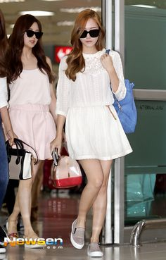 SNSD Jessica Seohyun airport june 2014