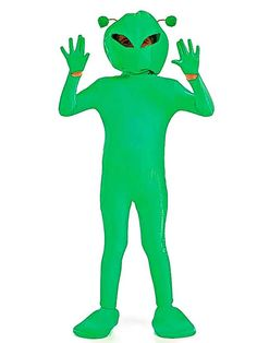 The 10 Best Hallowe'en outfits - 6. A2Z Kids Little green alien Keep sight of your little extraterrestrial d - The Independent #halloween #costume