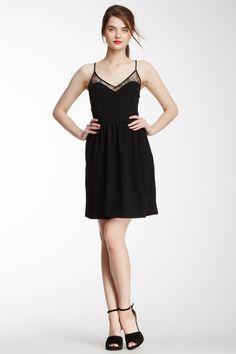 LOVE Moschino Lace V-Neck Dress//