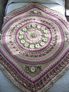 Ravelry: Project Gallery for Crochet/Hekel Mandala CAL 2016 pattern by Annamarie Esterhuizen
