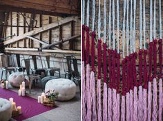 Crafty Wedding Inspiration in a Vintage Warehouse | Green Wedding Shoes Wedding Blog | Wedding Trends for Stylish + Creative Brides