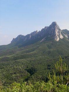 Ulsanbawi Rock in Seoraksan National Park, Gangwon Province, Korea