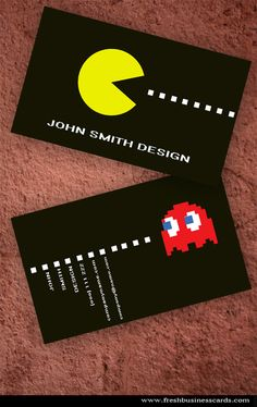 pacman-business-card