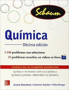 "Rosenberg, Jerome L.. ""Química"" 10ª ed. 2014 serie Schaum. 5 ejemplares"