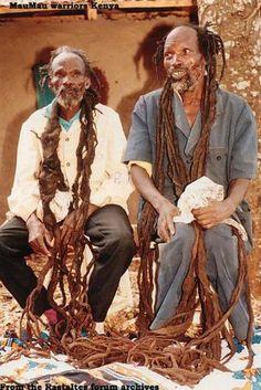 Kenyan mau mau .Kikuyu,Meru,Embu and Kamba tribes.