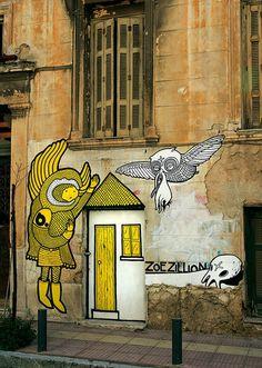 Yellw Wall Grafitti.