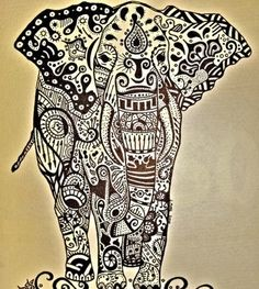 Elephant tattoo I love elephants