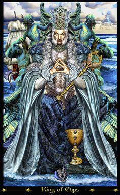 King of Cups Revised ~ Tarot Illuminati ~ *Elric2012 on deviantART