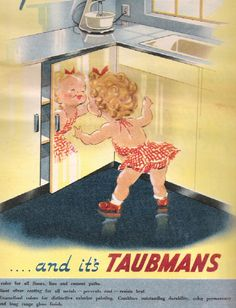 Taubmans Paint -Collecting great old Australian Ads? Take a look at these Retro ...