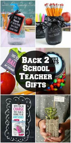 A roundup of awesome back to school teacher gifts to start the school year right! See it on { lilluna.com }