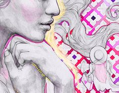 """Check out new work on my @Behance portfolio: """"Follow Your Heart..."""" http://be.net/gallery/53125601/Follow-Your-Heart #podessto, #animation, #purple, #pink, #dream, #drawing, #pencil, #adobeillustrator, #adobe, #face"""