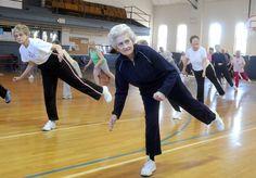 Healthy againg exercise tips for National Senior Health & Fitness Day