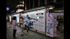 Reebok Shuttle Run Challenge at HK bus shelter   JCDecaux Cityscape