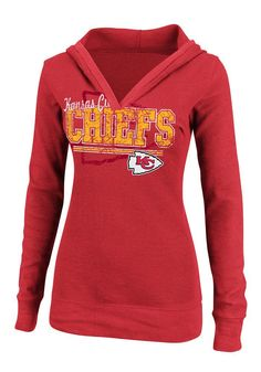 # Chiefs Wom Rd Spd Rules L/S Thrml Hood Guess what I got for just over $17 with tax today? Woo Hoo!