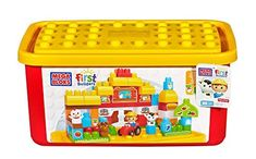 Mega Bloks Buildable Toy Chest Farm Tub (Colors May Vary): Amazon.co.uk: Toys & Games