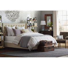 Montgomery Upholstered Bed | Joss & Main