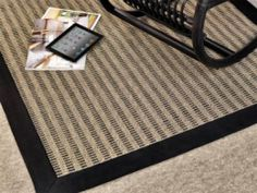 Nordica is a high quality natural sisal rug which creates a special optical effect. From some angles brighter and darker lines appear in the design to give the rug a contemporaneous look. Also available as a wall to wall carpet.