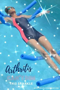 May is arthritis awareness month.   I try hard to do the things I love to do despite arthritis.  I appreciate the support I get from others.  Stay strong fellow arthritis warriors.  Don't let arthritis keep you from the things you love.  #arthritis, #arthritisawarenessmonth, #rheumatoidarthritis, #osteoarthritis, #lupus, #aquayoga