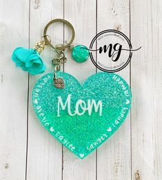 Mama of Both Keychain