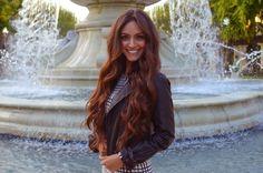 Vanessa Balli: Long wavy hair