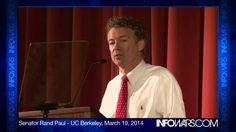 Rand Paul Berkeley Speech: Your Privacy is Under Assault!