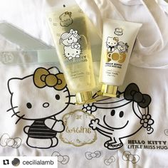 #Repost @cecilialamb with @repostapp  Always thought Laline was Japanese made but no it's made in Israel (thanks @fudejapan for telling me that!) #laline #israel #madeinisrael #limitededition #specialedition #hellokitty #japan #littlemisshug #uk #LalinexHelloKitty #LalinexHelloKittyxLittleMissHug #cute