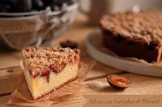 Gâteau aux Questsches et Streusel à la Cannelle
