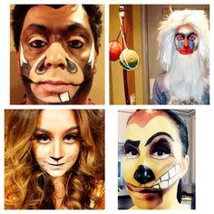 Lion King Halloween Theme. Pumba, Rafiki, Mufasa, Timone