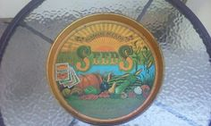 Sunshine Seed Co Metal Beer/Cleaning Tray Advertising Tin