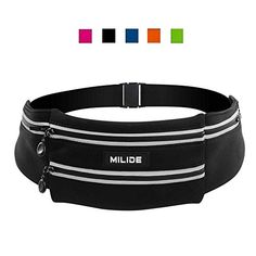 MILIDE Running Belt Waist pack for iphone x 8 7 plus With Reflective Strips Runner Workout | Waterproof Canvas Runners Belt|Phone Fanny Pack For Men,Women,Hiking Cycling,Travel,Workout,Sports #MILIDE #Running #Belt #Waist #pack #iphone #plus #With #Reflective #Strips #Runner #Workout #Waterproof #Canvas #Runners #Belt|Phone #Fanny #Pack #Men,Women,Hiking #Cycling,Travel,Workout,Sports