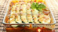 Cuketové lasagne so syrom, kyslou smotanou a šunkou: Ľahké, rýchle a chutné jedlo – najlepší nápad, čo s cuketou! Mozzarella, Quiche, Breakfast, Lasagna, Morning Coffee, Quiches
