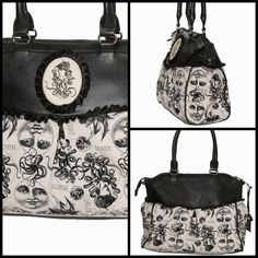 We just love this bag by Banned Apparel. 👜 #shamorg #bannedapparel #gothgoth #gothicfashion #goth #gothicaccessories #gothicstyle #gothicbags #victorian