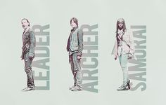 Rick, Daryl, & Michonne
