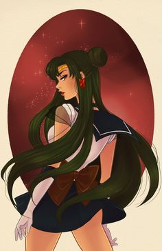 Sailor Pluto by Watertae.deviantart.com on @deviantART