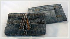 Handytaschen aus Jeanshosen