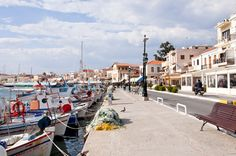 Egina, Greece Greek Islands, Summer Of Love, Places To Travel, Places Ive Been, Destinations, Street View, Europe, Sea, Pictures