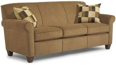 "Flexsteel Furniture: Sofas: DanaSofa (5990-31)  Ordered this with chair, ottoman, but different pillows.  Except in color ""Dune"".  Sofa Mart in Ft. Wayne, IN."