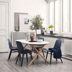 IKEA Nederland (@ikeanederland) op Instagram: 'Lekker licht #tafelen. ☁ #SLÄHULT #tafel #ODGER #stoel #eetkamer #inspiratie #IKEA #IKEAnederland'