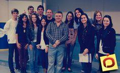 Paulo Kendzerski - Diretor da WBI Brasil, esteve na Calco - Centro Acadêmico Livre de Comunicação na segunda-feira 07 de Maio em Blumenau/SC