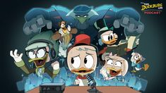 Disney Xd, Disney Pixar, Disney Ducktales, Three Caballeros, Old Libraries, Scrooge Mcduck, Duck Tales, New Beginnings, Gravity Falls