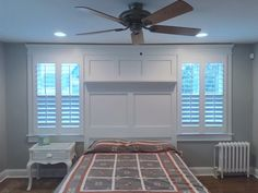 ASAP Blinds custom designs all plantation shutters to your windows shape and size taking into consideration architectural detail and style.