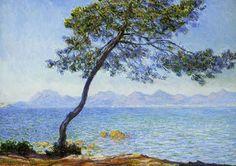 Montagnes de l'Estérel : Claude Monet - 1888.