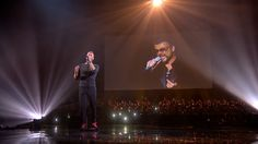 Chris Martin tribute to George Michael brits2017