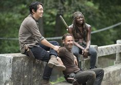 Andrew Lincoln The Walking Dead | the-walking-dead-episode-510-behind-the-scenes-andrew-lincoln-steven ...