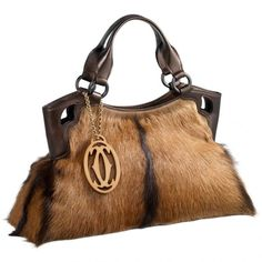 Marcello small bag in kidskin with antelope motif by Cartier (BB).  Přišpendlito · Kabelky f0bc86bfff